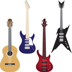 Semi-acoustic and Electric Acoustic Guitars